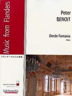 peter Benoit - Derde Fantasia - Partition - di-arezzo.fr