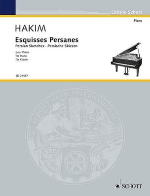 Naji Hakim - Esquises persanes - Partition - di-arezzo.fr