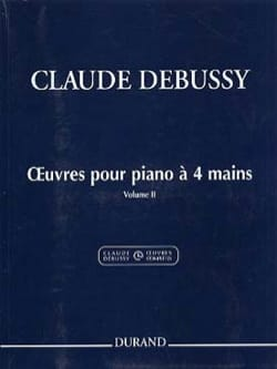 Oeuvres pour Piano à 4 mains Volume 2 DEBUSSY Partition laflutedepan