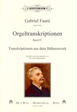 Gabriel Fauré - Transcriptions pour orgue Volume 4 - Partition - di-arezzo.fr