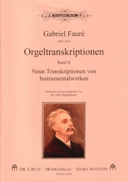 Transcriptions pour orgue Volume 2 FAURÉ Partition laflutedepan
