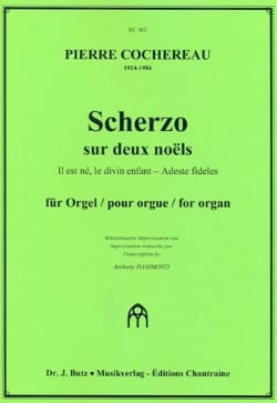 Pierre Cochereau - Scherzo on 2 christmas for organ - Partition - di-arezzo.com