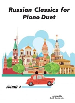 Russian classics for piano duets Volume 2 - Partition - di-arezzo.fr