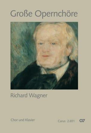 Grands chœurs d'opéra - Richard Wagner - Partition - laflutedepan.com