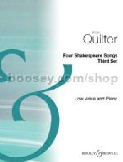 4 Shakespeare songs - third set - Roger Quilter - laflutedepan.com