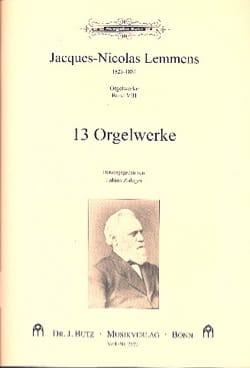 Jacques Nicolas Lemmens - Orgelwerke. Volume 8 - Partition - di-arezzo.fr