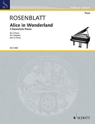 Alice in Wonderland Alexander Rosenblatt Partition laflutedepan