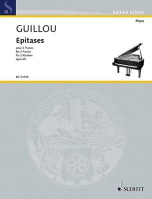 Jean Guillou - Epitases op. 65. 2 pianos - Sheet Music - di-arezzo.com