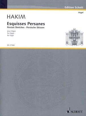 Naji Hakim - Esquisses Persanes - Partition - di-arezzo.fr