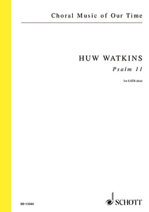 Huw Watkins - Psaume 11 - Partition - di-arezzo.fr