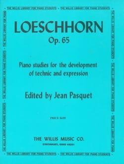 A. Loeschhorn - Studies for piano Op. 65 - Sheet Music - di-arezzo.com