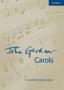 John Gardner - Carols - Partition - di-arezzo.fr