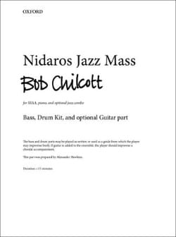Bob Chilcott - Nidaros Jazz Mass - Partition - di-arezzo.fr