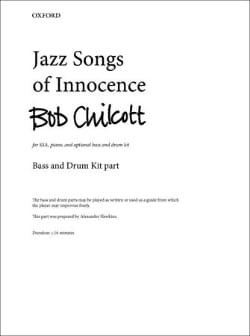 Bob Chilcott - Jazz Songs of Innocence - Partition - di-arezzo.fr