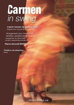 Pierre-Gérard Verny - Carmen in swing. - Sheet Music - di-arezzo.com