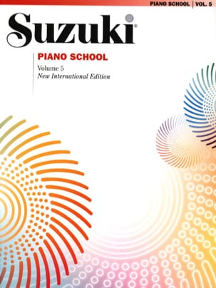 Suzuki Piano School New International Edition Volume 5 - laflutedepan.com