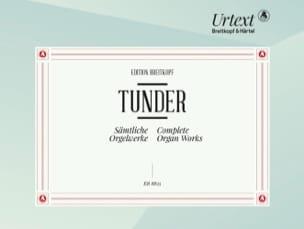 Franz Tunder - Sämtliche Orgelwerke - Partition - di-arezzo.fr