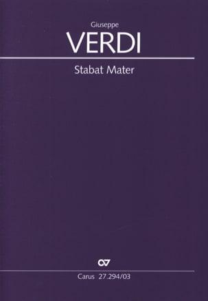 Stabat Mater - Giuseppe Verdi - Partition - Chœur - laflutedepan.com