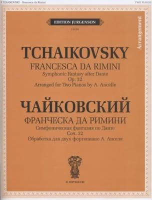 Francesca Da Rimini - TCHAIKOWSKY - Partition - laflutedepan.com