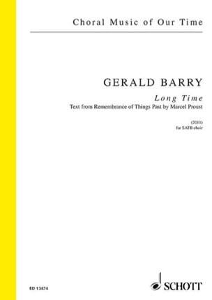 Long Time - Gerald Barry - Partition - laflutedepan.com