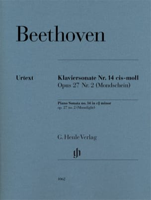 Sonate au Clair de lune BEETHOVEN Partition Piano - laflutedepan