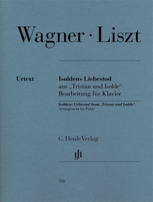 Wagner Richard / Liszt Franz - Isoldens Liebestod - Sheet Music - di-arezzo.co.uk
