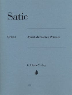 Erik Satie - Before Last Thoughts - Sheet Music - di-arezzo.com