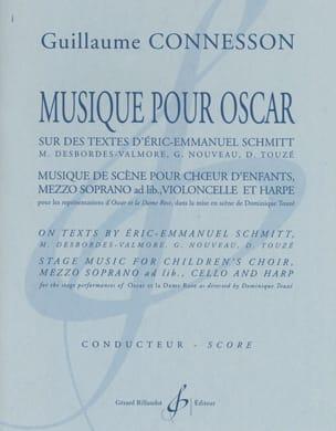 Musique pour Oscar - Guillaume Connesson - laflutedepan.com