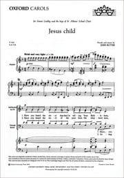 John Rutter - Jesus Child - Sheet Music - di-arezzo.com