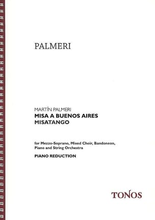 Misa a Buenos Aires Martin Palmeri Partition Chœur - laflutedepan