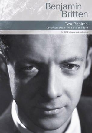 Deux Psaumes BRITTEN Partition Chœur - laflutedepan