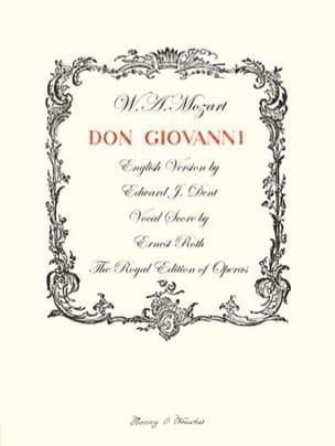 MOZART - Don Giovanni K 527 - Sheet Music - di-arezzo.com