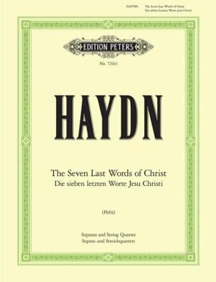 Les sept dernières paroles du Christ HAYDN Partition laflutedepan