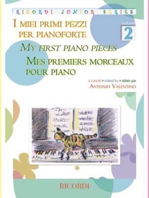 Mes premiers morceaux pour piano. Volume 2 - laflutedepan.com