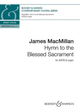 Hymn to the Blessed Sacrament James MacMillan Partition laflutedepan