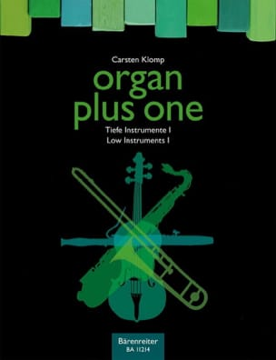 Organ plus one - Carsten Klomp - Partition - Orgue - laflutedepan.com