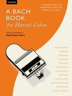 To Bach Book for Harriet Cohen - Sheet Music - di-arezzo.co.uk