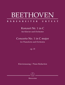 Ludwig van Beethoven - Piano Concerto No. 1 op. 15 In C Major - Sheet Music - di-arezzo.co.uk