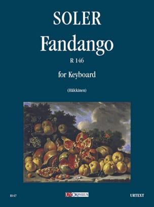 Fandango R 146 Antonio Soler Partition Clavecin - laflutedepan