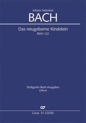 Das neugeborne Kindelein, BWV 122 - BACH - laflutedepan.com