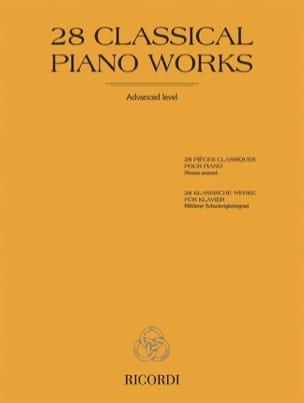 - 28 pièces classiques pour piano - Partition - di-arezzo.fr