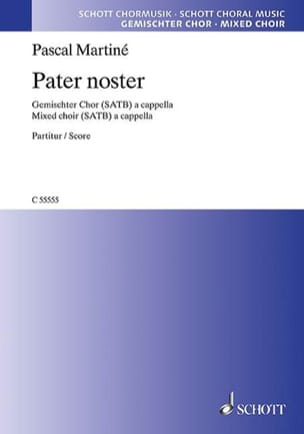 Pascal Martiné - Pater noster - Partition - di-arezzo.fr