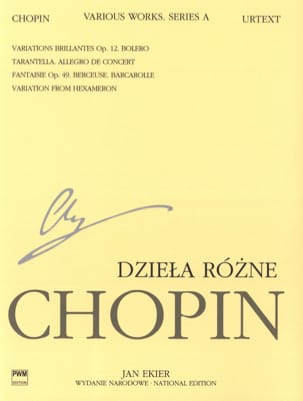CHOPIN - Various parts Series A - Sheet Music - di-arezzo.co.uk