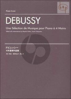 Claude Debussy - Une Séletion de Musique pour PIano à 4 mains - Partition - di-arezzo.fr