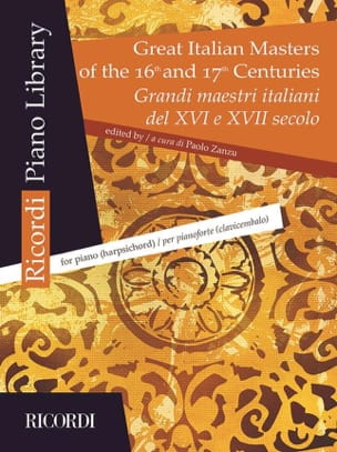 - Great Italian Masters of the 16th and 17th centuries - Sheet Music - di-arezzo.co.uk