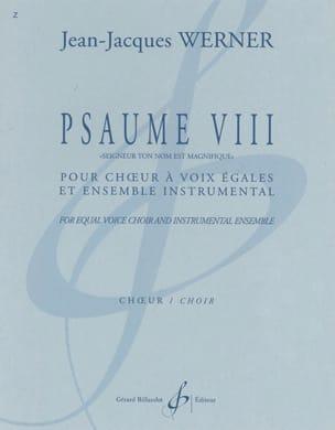 Psaume VIII - Seigneur, ton nom est magnifique . Choeur seul - laflutedepan.com