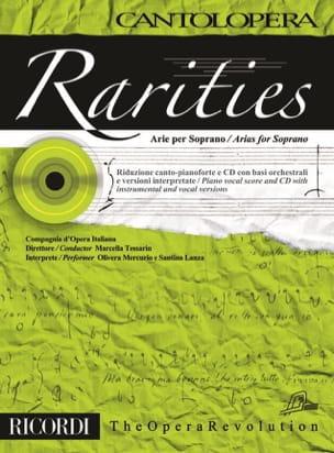 - Rarities. Arie per soprano Volume 1 - Sheet Music - di-arezzo.com