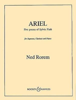 Ariel - Ned Rorem - Partition - Clarinette - laflutedepan.com
