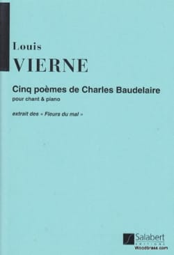 Louis Vierne - Five poems Op. 45 - Partition - di-arezzo.com