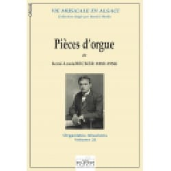 Pièces d'orgue - René-Louis Becker - Partition - laflutedepan.com